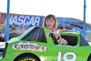 She chose her car because it said M&M's.