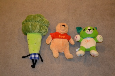 Every day, one day, never: Baroccoli Obama, Pooh Bear, or Scout?