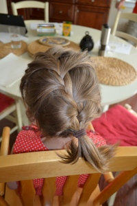 If defusing a bomb relied on me creating one passable french braid, we'd have a MacGruber situation.