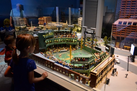 There's Lego Fenway!