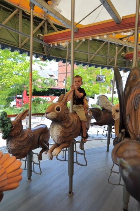 Fun fact: this carousel plays Bon Jovi.