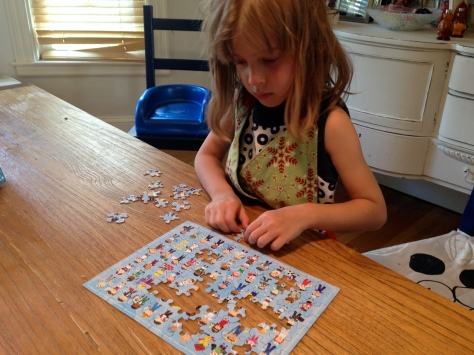 Mama, I'd be better at this puzzle without you.