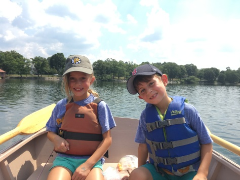 kids boating