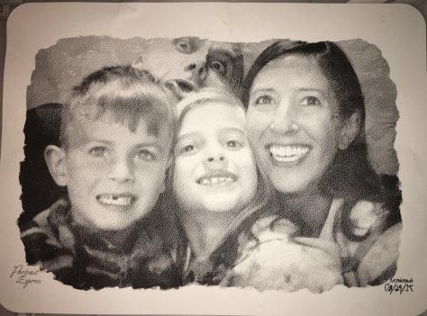 Rembrandt family portrait
